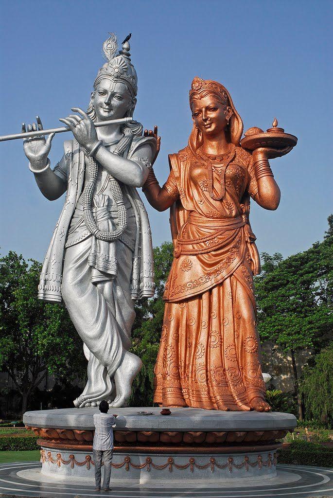 Hinduism Lord Krishna statue