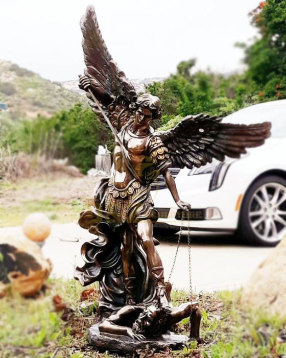 Famous St. Michael sculpture