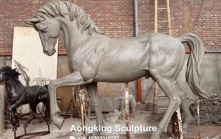 Bronze Life Size Horse Sculpture