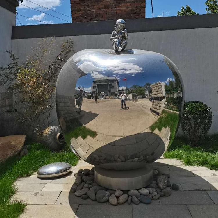mirror stainless steel sculpture (1)